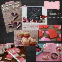 Inspiration Board Valentine's Day Fun :: HoosierHomemade.com