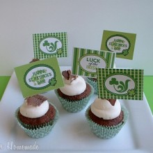Irish Cream Cupcakes.mini
