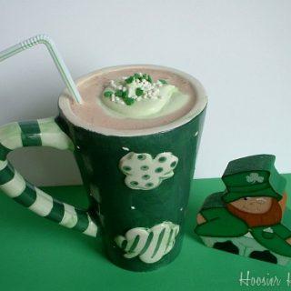 Irish Cream Pie Shake