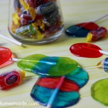 Homemade Jolly Rancher Lollipops | Recipe on HoosierHomemade.com