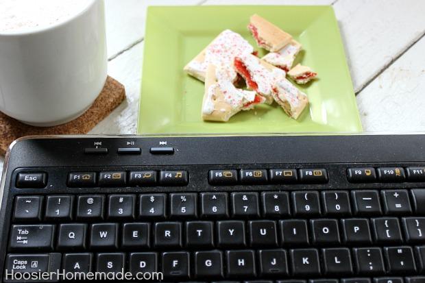 Crumbs on your Keyboard