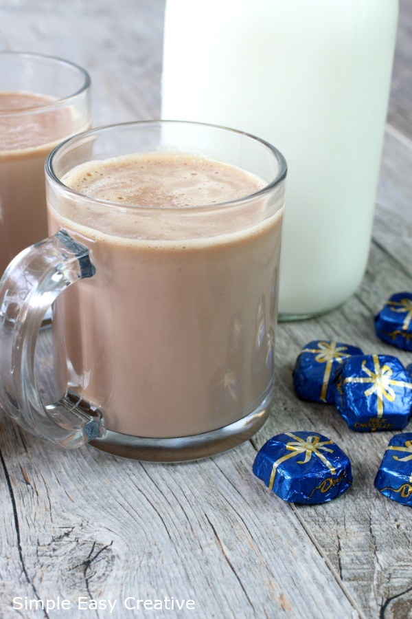 HOT CHCOCOLATE - 2 INGREDIENTS