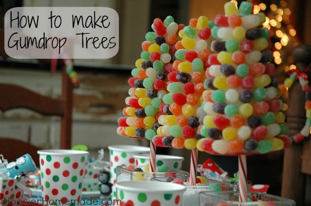 now lets chat about the gumdrop trees