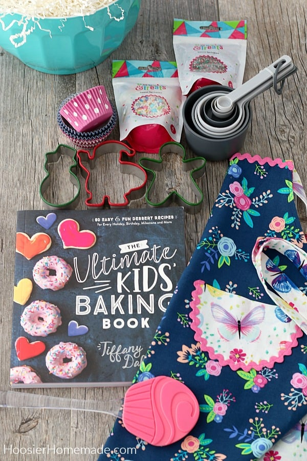 Items for Kids Baking Gift Basket
