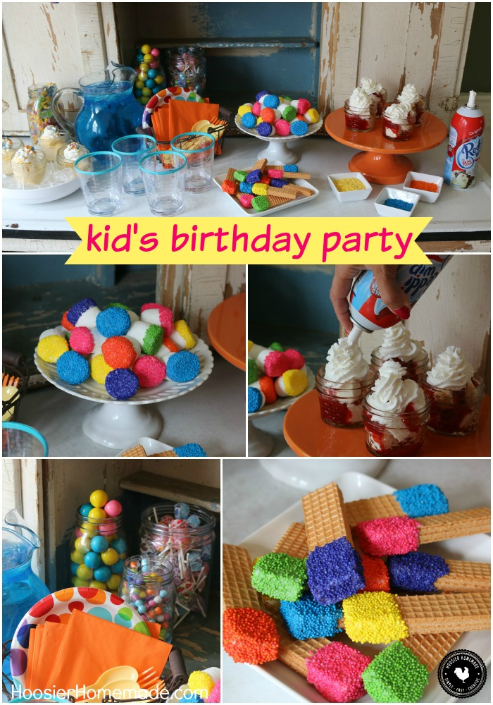 Put Together This Easy Kid S Birthday Party In Under 30 Minutes No Bake Treats
