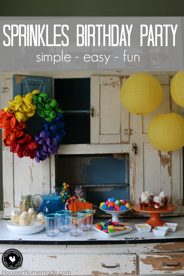 Easy Kids Birthday Party Ideas Hoosier Homemade
