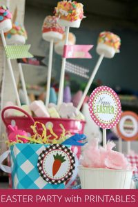 Easter Party with Printables