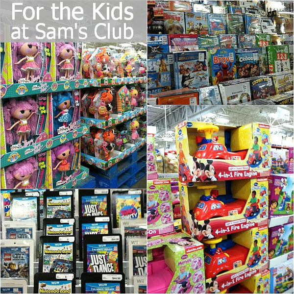 Kids Christmas Shopping at Sam's Club | HoosierHomemade.com