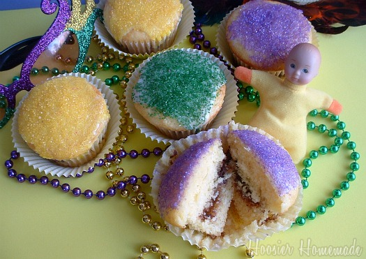 ... chicken party ideas by mardi gras outlet mardi gras king cake cupcakes