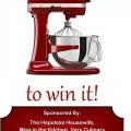 KitchenAid Giveaway: Pin it to Win it :: HoosierHomemade.com