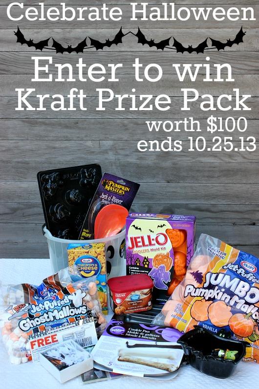 Enter to win $100 Kraft Prize Pack on HoosierHomemade.com