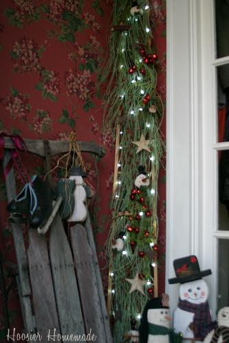 Christmas Tree Tour Ladder Tree Hoosier Homemade