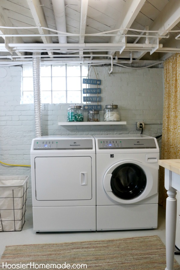Laundry room makeover hoosier homemade for What not to do before closing on a house