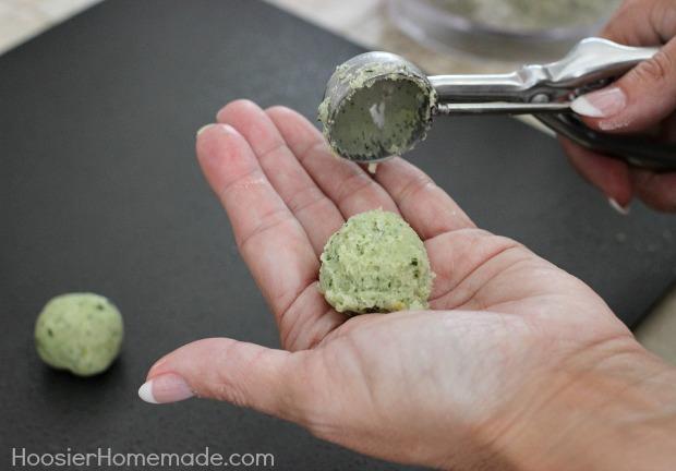 Lemon Basil Shortbread Cookies | Recipe on HoosierHomemade.com