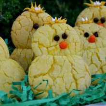 Lemon Chick Cookies :: Recipe on HoosierHomemade.com