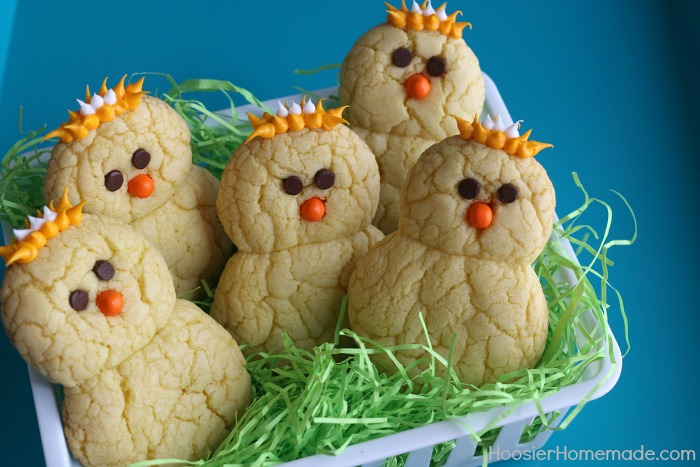 30 themed easter basket ideas hoosier homemade lemon chick peeper cookies negle Images
