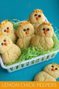 Lemon Chick Cookies