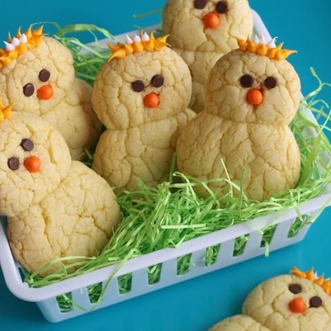 Lemon Chick Peeper Cookies