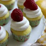Lemon Raspberry Cupcakes - April 2013
