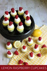 Lemon Raspberry Cupcakes