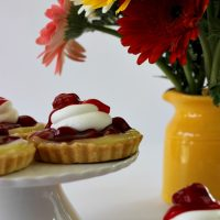 Lemon Strawberry Tartlets