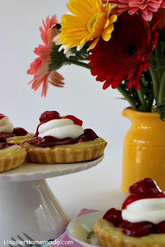 Lemon Strawberry Tartlets