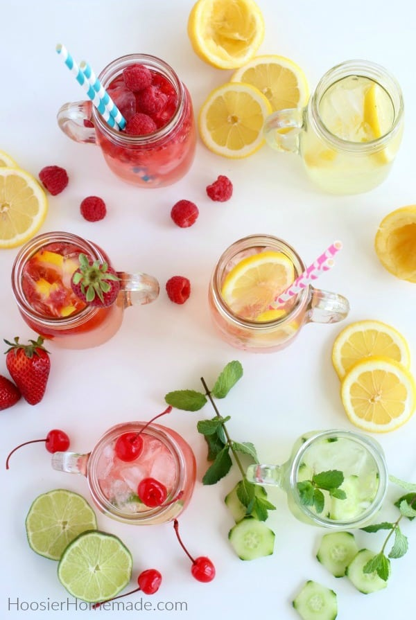 Flavored Lemonade Recipe