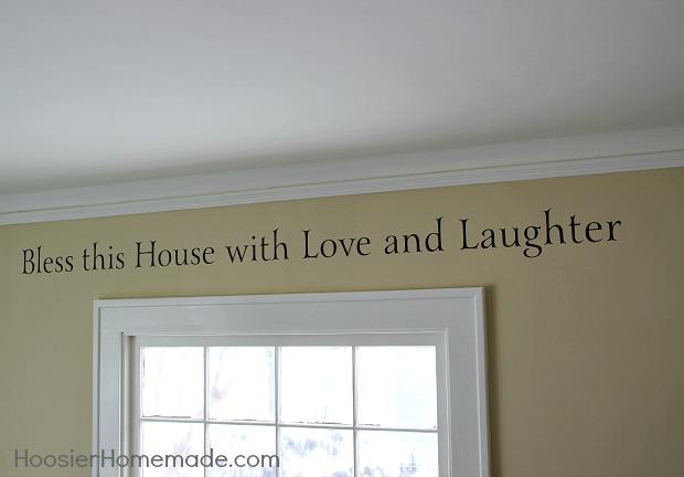 Wall Lettering | HoosierHomemade.com