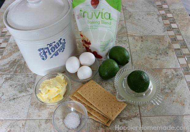Lime Bars :: Recipe on HoosierHomemade.com