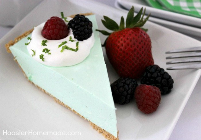 Cool and Creamy Lime Pie