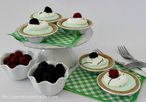 Summer Lime Pie : Cool, Creamy & No Bake :: Recipe on HoosierHomemade.com