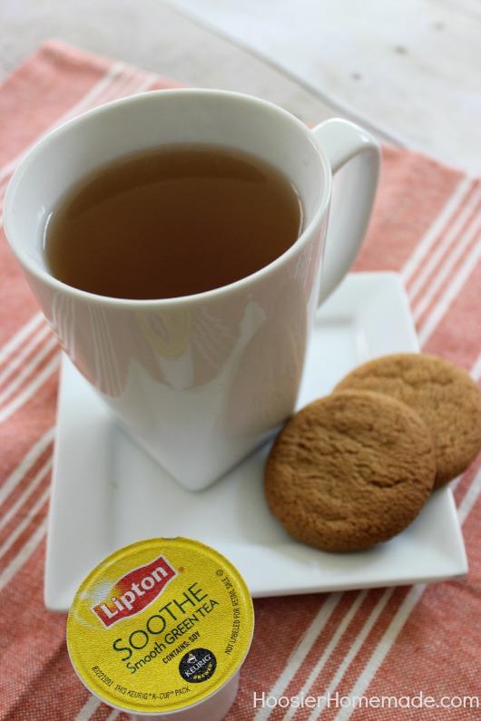 Lipton Soothe Green Tea