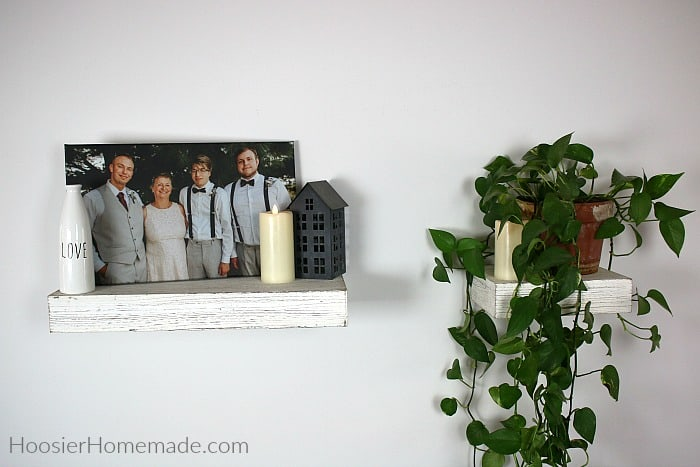 Wall decor with canvas print