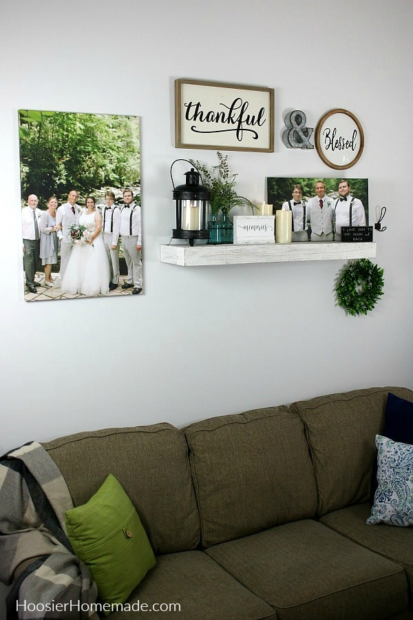 Wall Decor Using Canvas Prints Hoosier Homemade