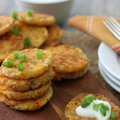 Loaded Mashed Potato Patties