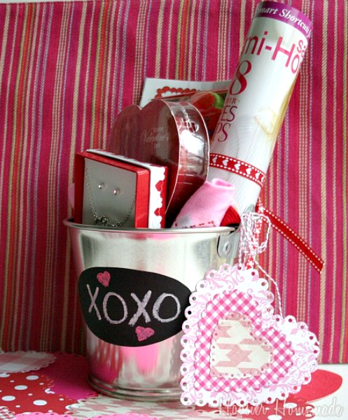 Love Bucket for Valentine's Day :: HoosierHomemade.com