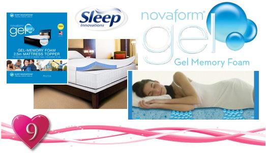 giveaway closed - Novaform Mattress