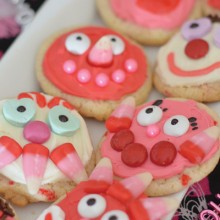 Valentine Cookies for Kids