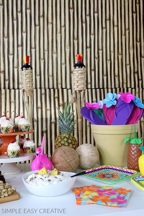 Tiki Torches for Luau Party