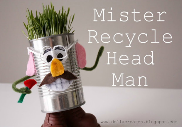 Recycled Head Man