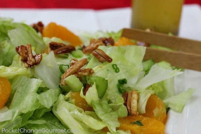 Mandarin Orange Salad | Recipe on PocketChangeGourmet.com