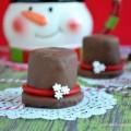 Marshmallow Frosty Hats : 100 Days of Homemade Holiday Inspiration on HoosierHomemade.com