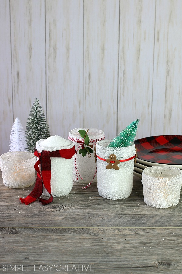 mason jar christmas craft - Christmas Jar Decorations