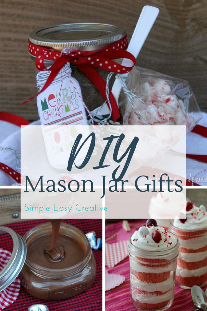 Looking for a great DIY Mason Jar Gift? We have all the best ones right here!