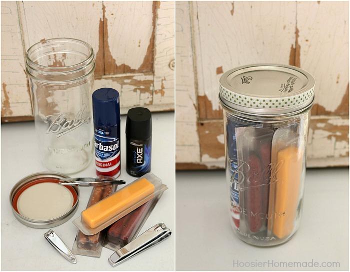 mason jar gifts for men