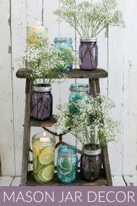 Mason Jar Decorating