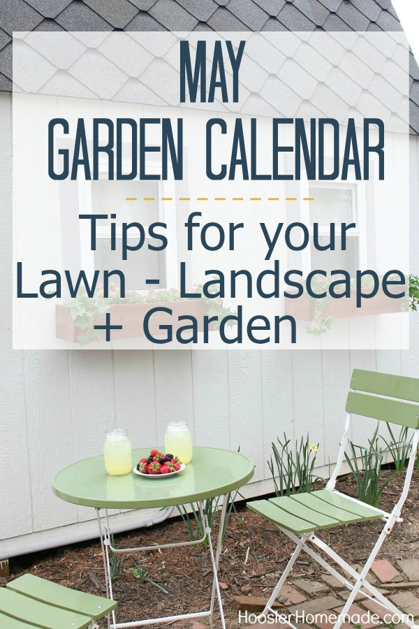 GARDEN CALENDAR - Tips for your Lawn, Landscape and Garden