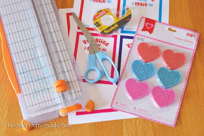 Easy Printable Valentine for Kids