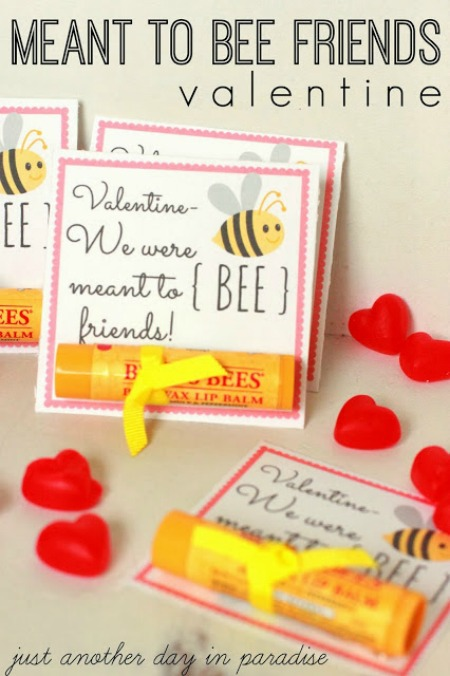 Meant to BEE Friends Valentine
