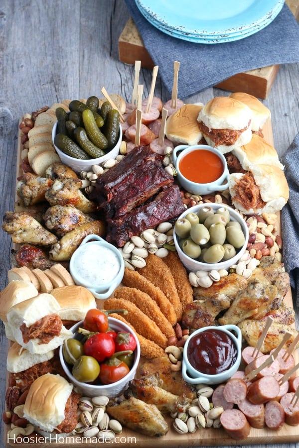 Meat Lovers Charcuterie Board